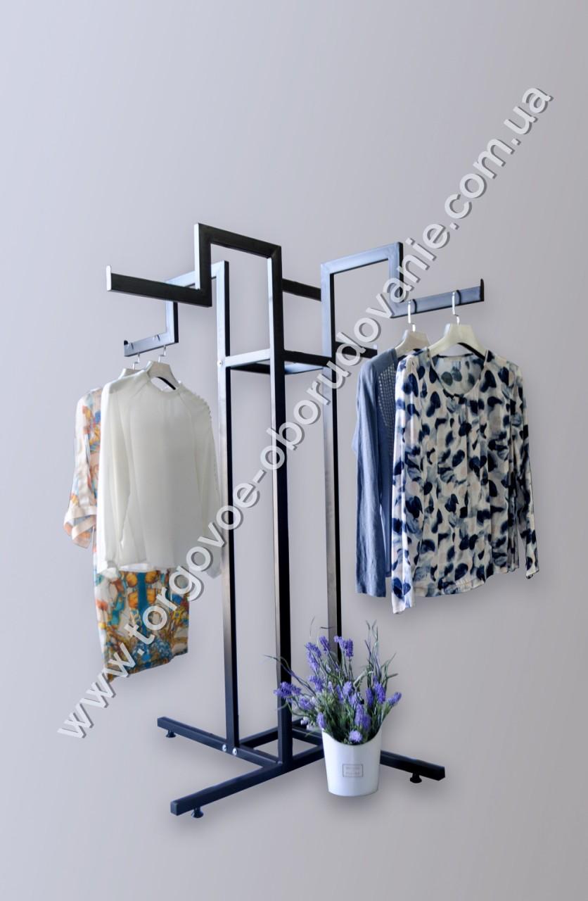 Стойка двухуровневая для одежды